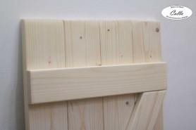 drevená okenica prírodné drevo