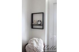 drevený rám na stenu rustikálny