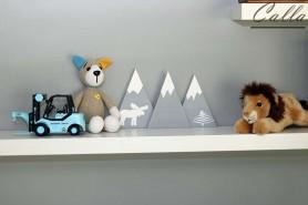 drevená dekorácia do detskej izby