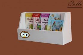 stojan na knihy alebo hračky s motívom sova