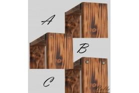 typ spojov dreva dekorácií