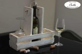 vinoteka v hnedej patine