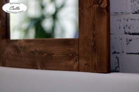 drevene zrkadlo detail