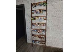 Drevený rebrík na fotografie