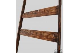 Vaše obľúbené fotografie zavesené na drevenom rebríku