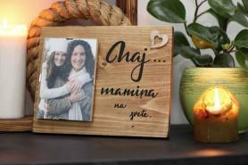 darčekový fotorám na deň matiek