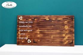 smútočný fotorám z dreva s vlastným textom
